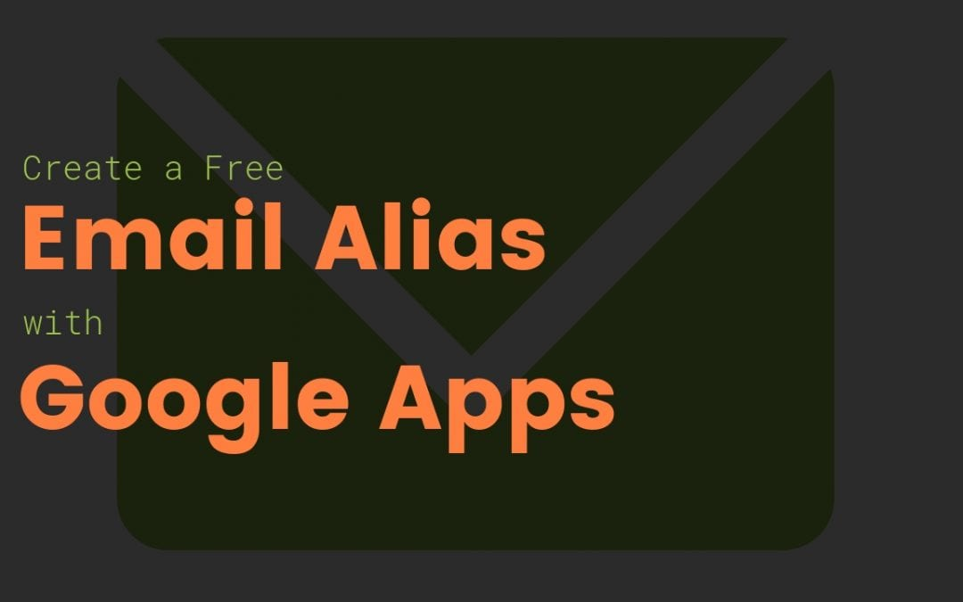 Add free Email Alias to Google Apps