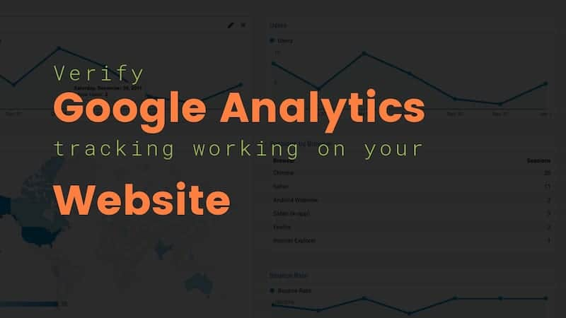Verify Google Analytics is Tracking on your Website